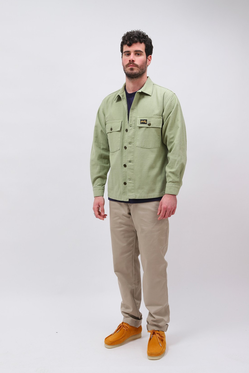 Cpo shirt Olive sateen