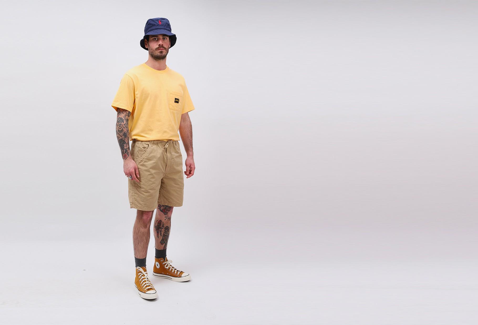 STAN RAY / Recreation short Khaki poplin