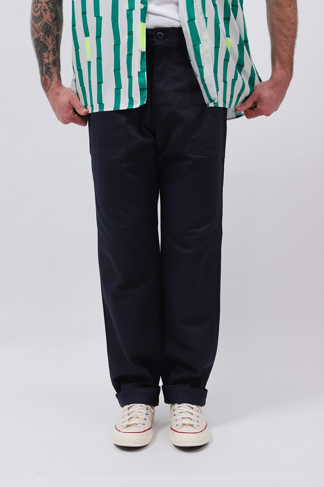 STAN RAY / Taper fatigue pant Navy