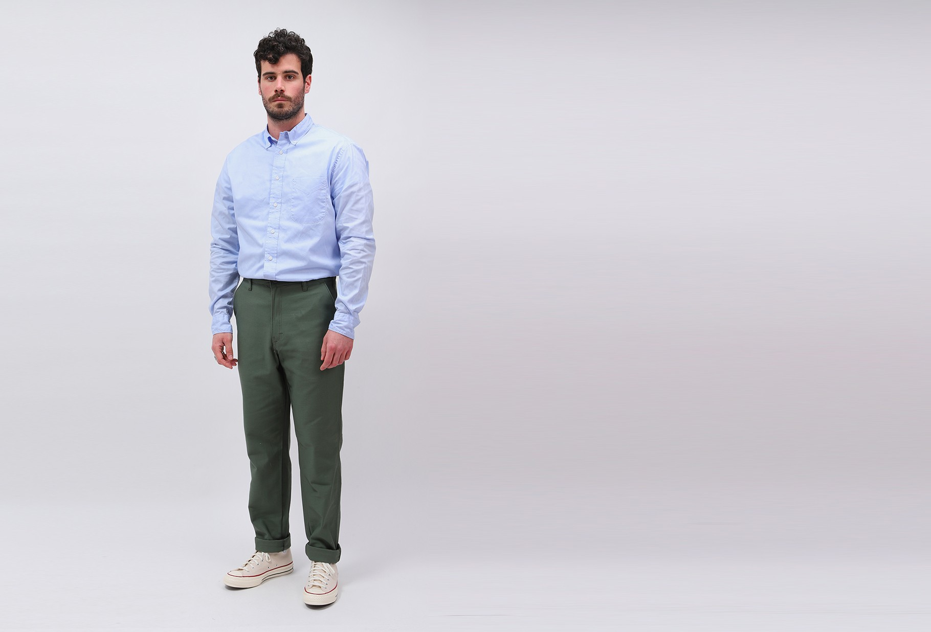 STAN RAY / Easy chino Olive sateen