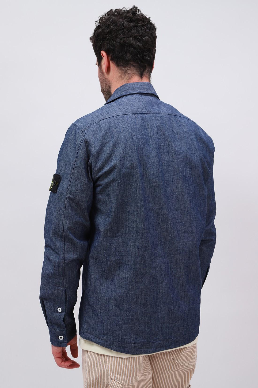 STONE ISLAND / 12207 chambray shirt Wash