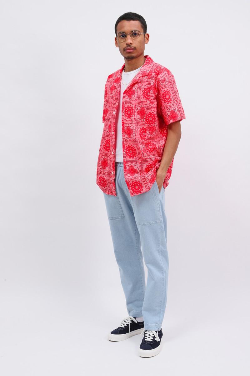 Malick bandana print shirt Red