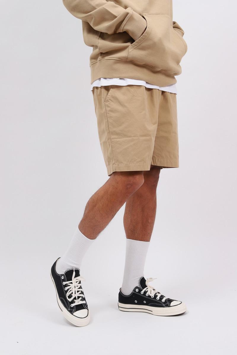 Organic twill shorts desert Khaki