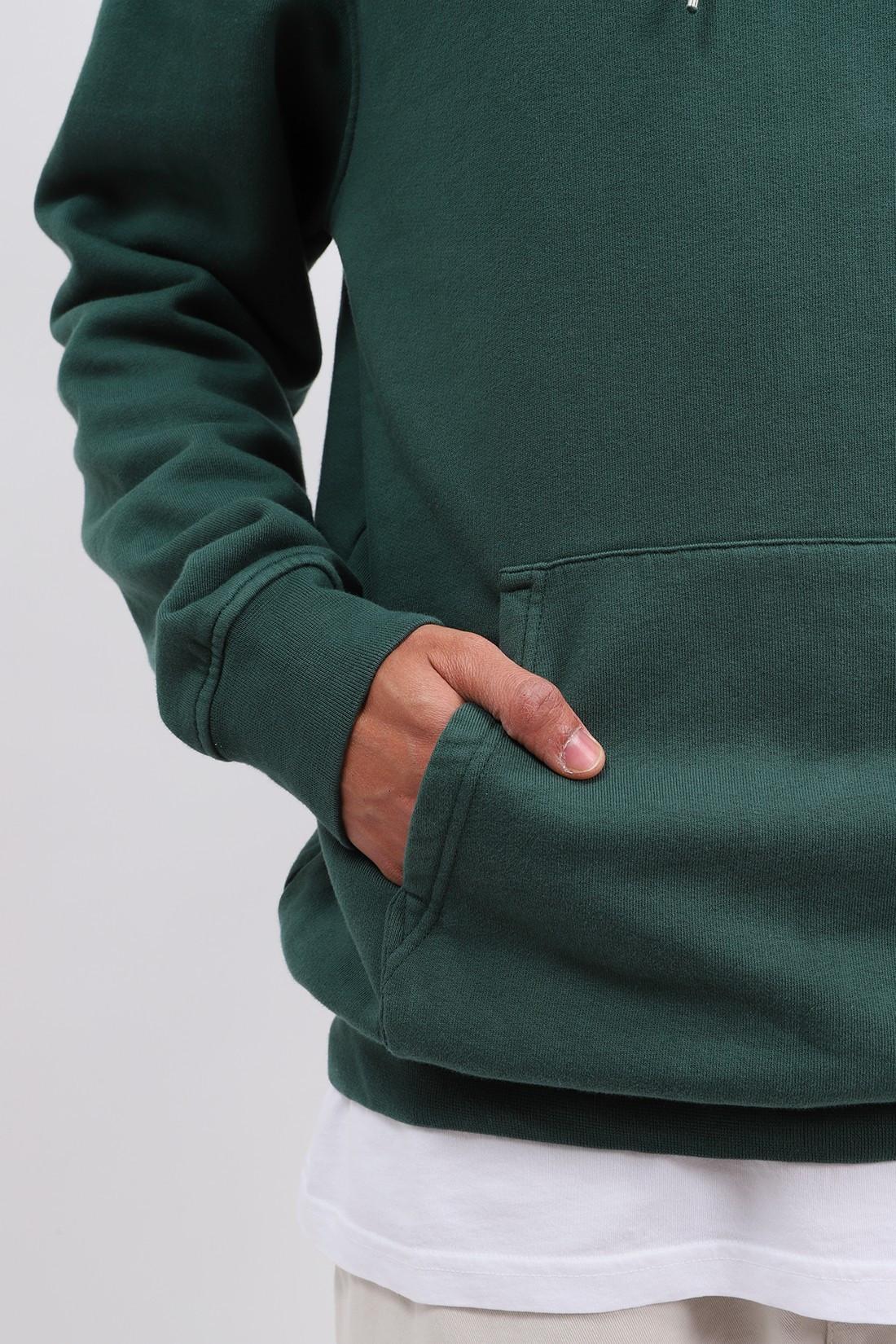 COLORFUL STANDARD / Classic organic hood emerald Green