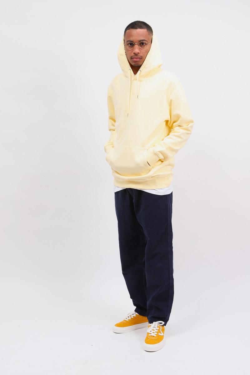 Classic organic hood soft Yellow