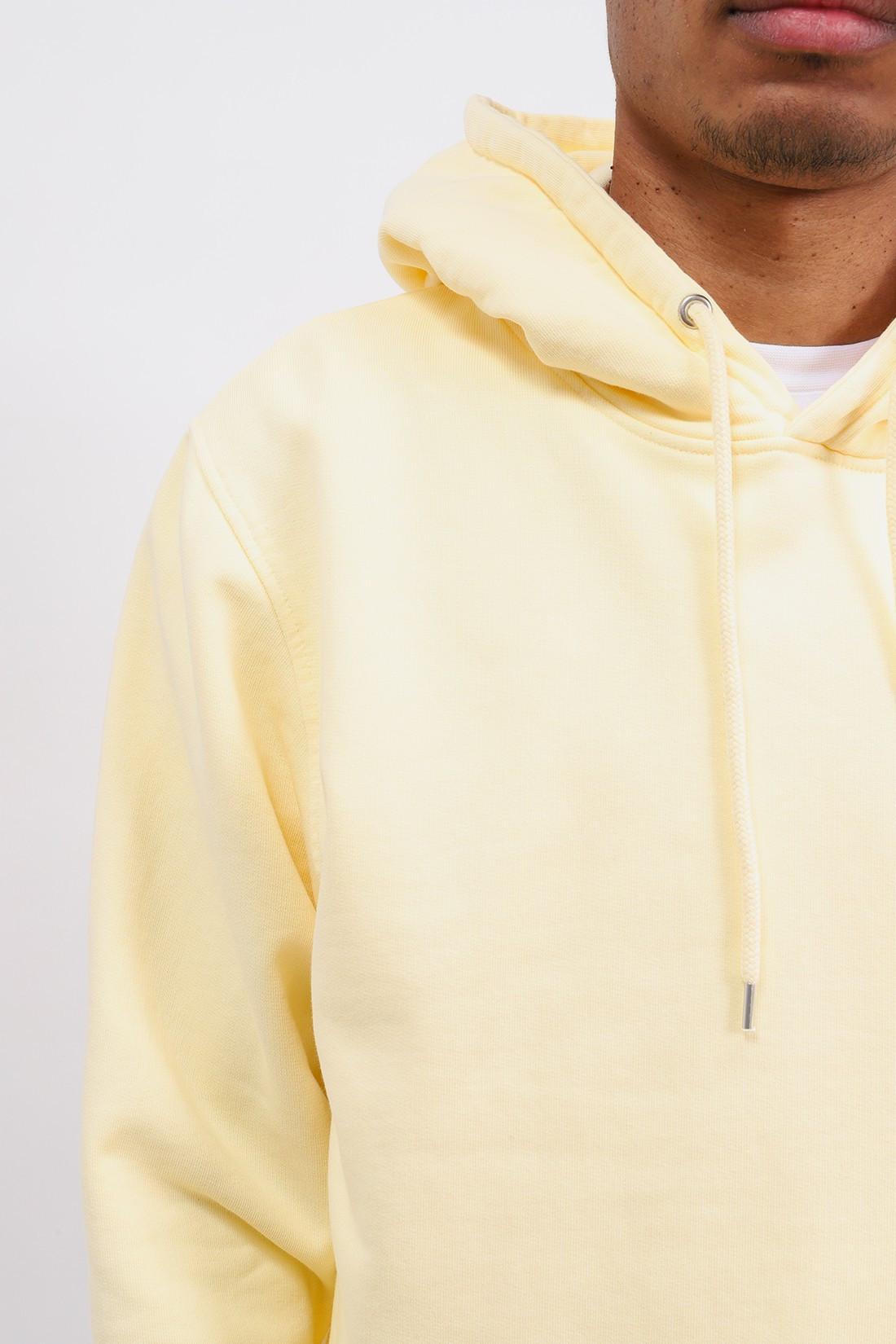 COLORFUL STANDARD / Classic organic hood soft Yellow