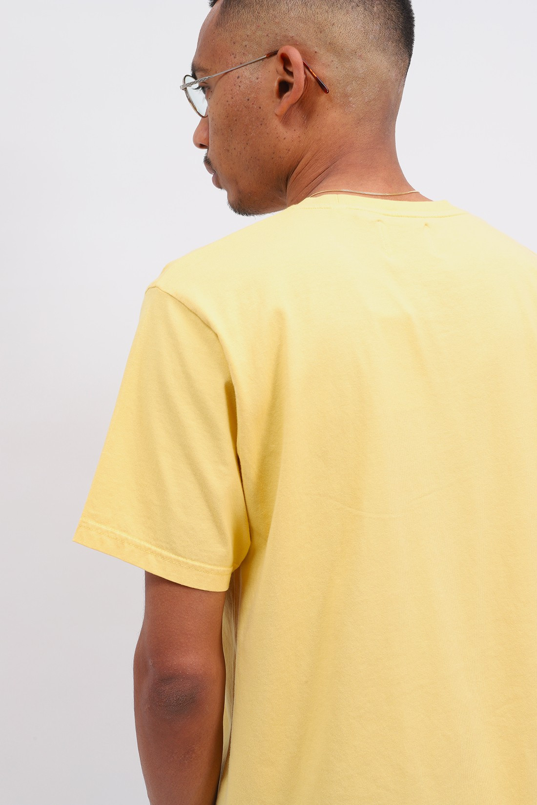 COLORFUL STANDARD / Classic organic tee lemon Yellow