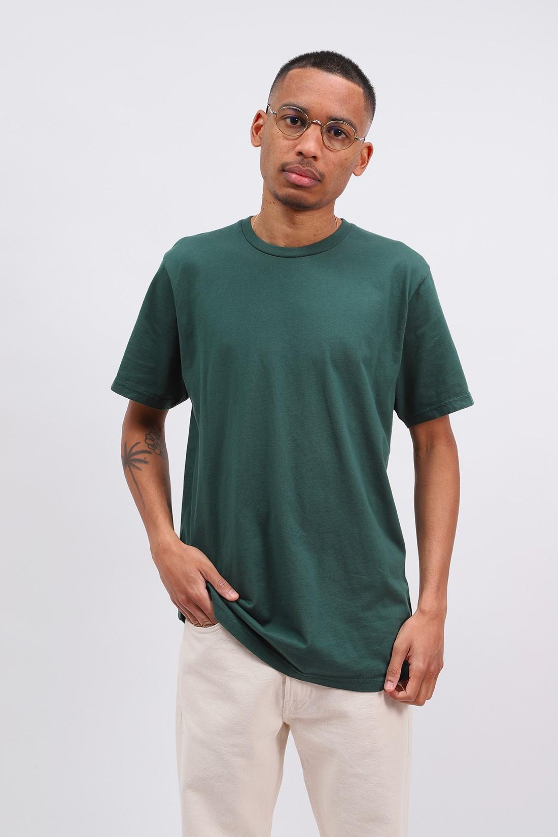 COLORFUL STANDARD / Classic organic tee emerald Green