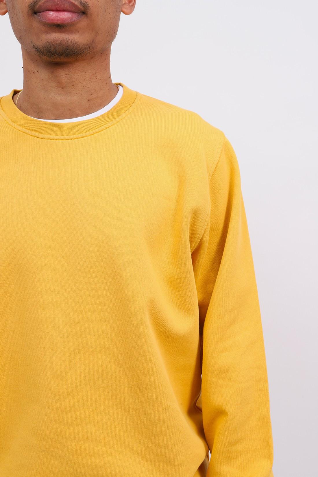 COLORFUL STANDARD / Classic organic crew burned Yellow