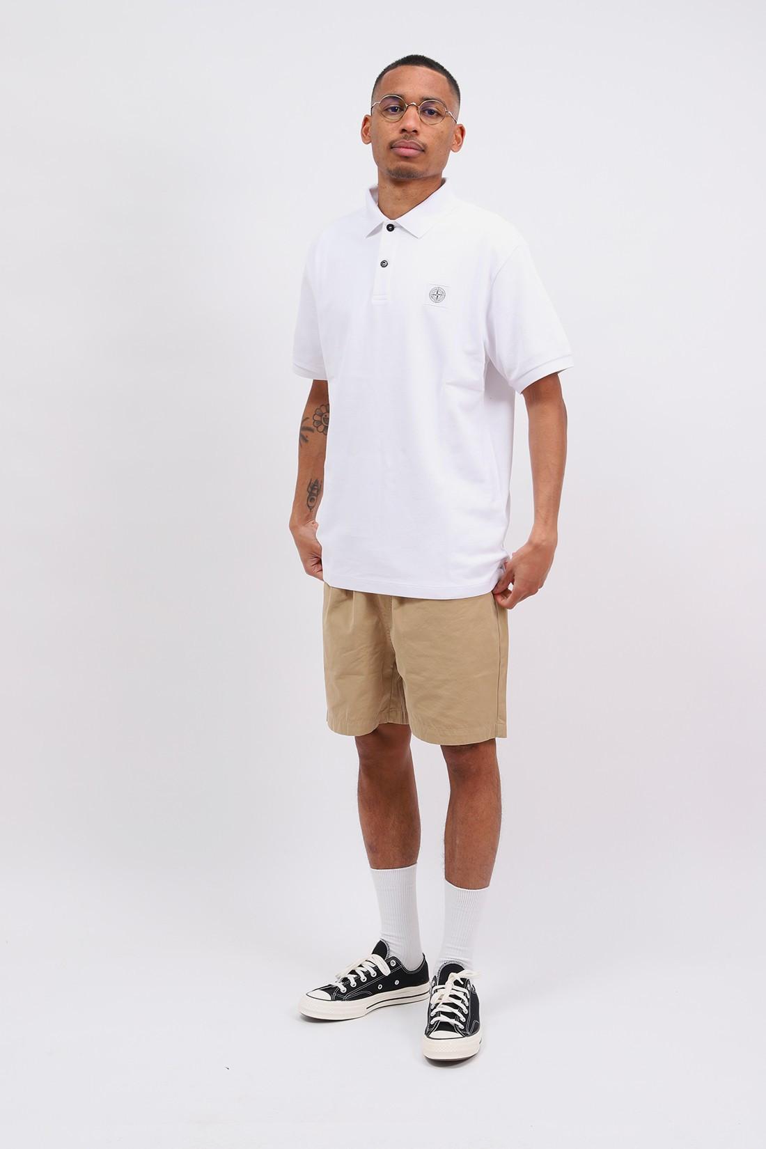 STONE ISLAND / 22r39 polo shirt v0001 Bianco