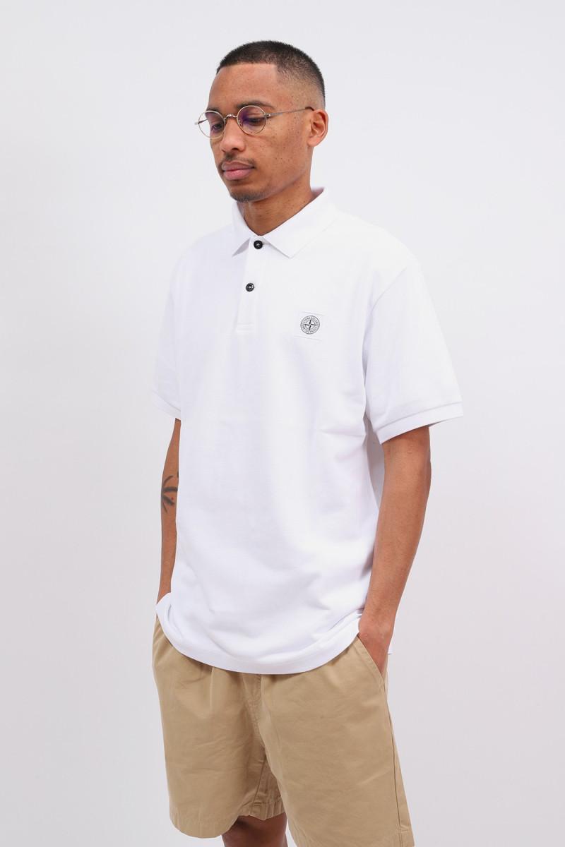 22r39 polo shirt v0001 Bianco