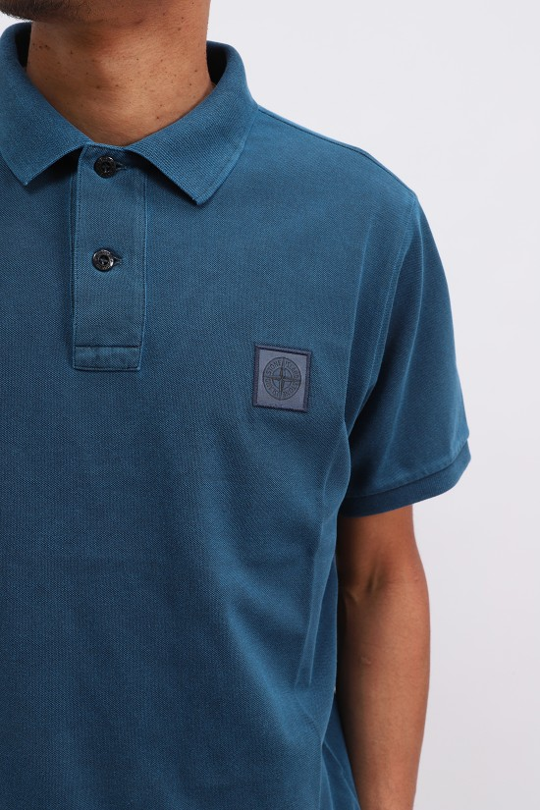STONE ISLAND / 22s67 polo shirt v0024 Avio