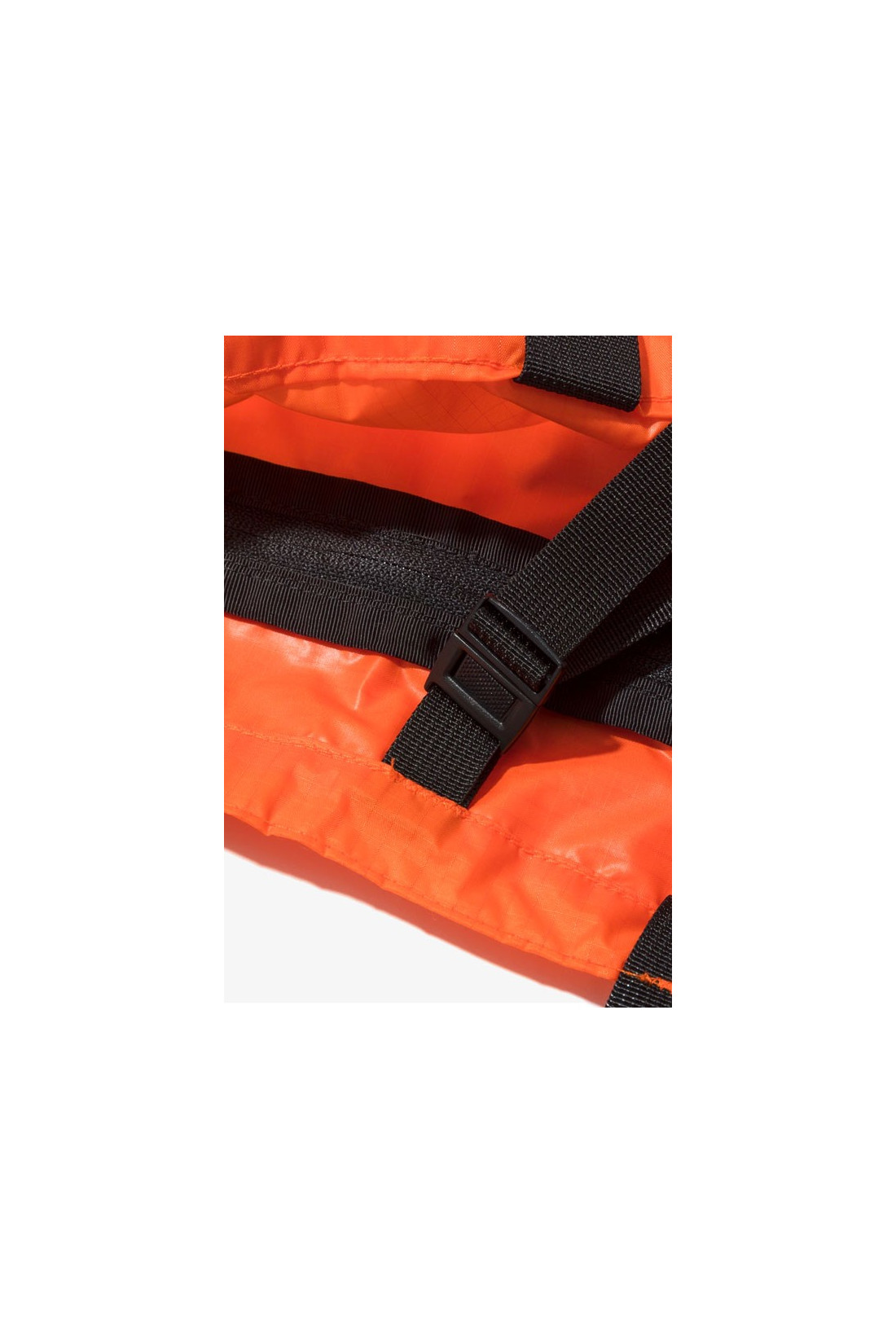 BATTENWEAR / Packable tote nylon Orange / black