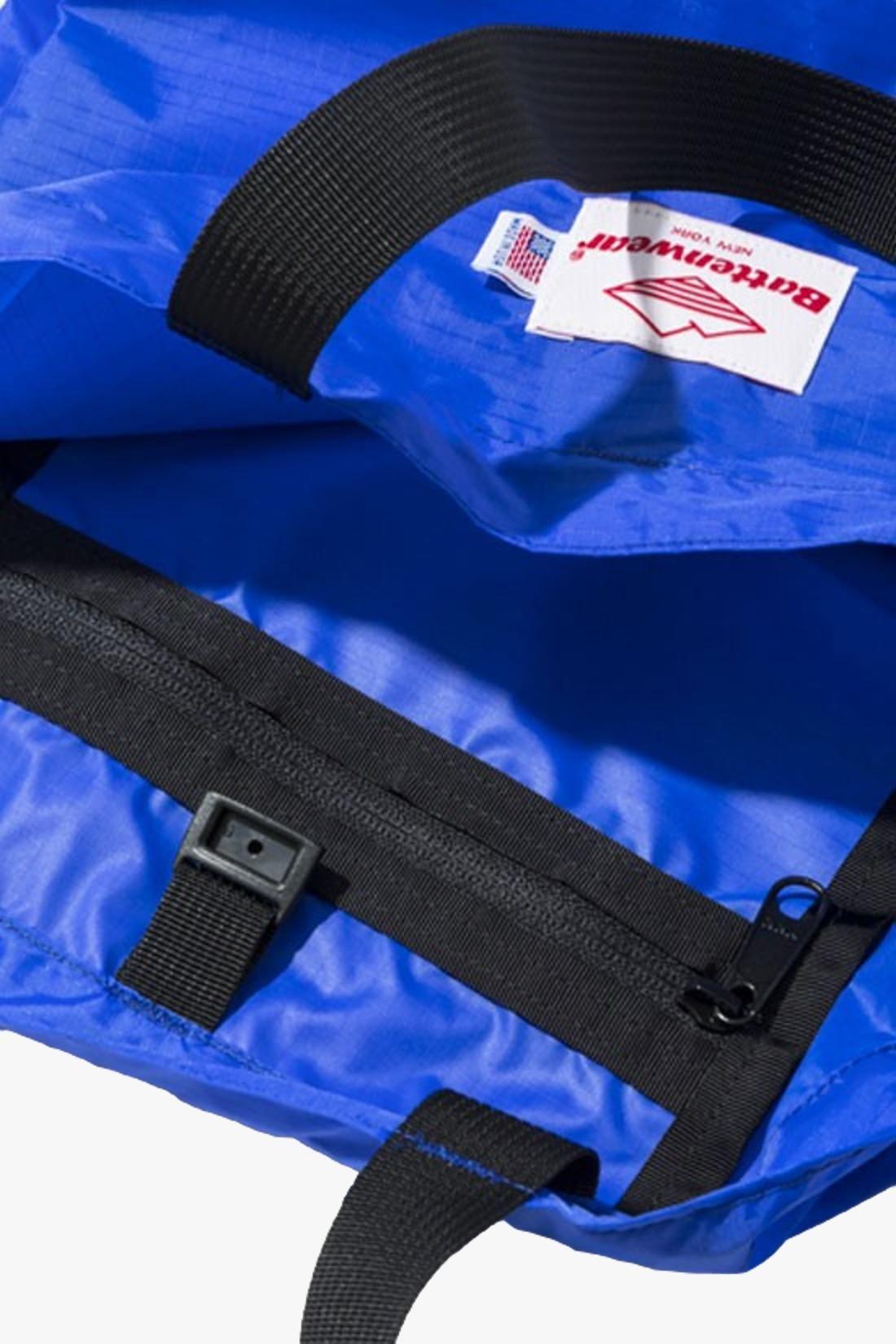 BATTENWEAR / Packable tote nylon Royal / black