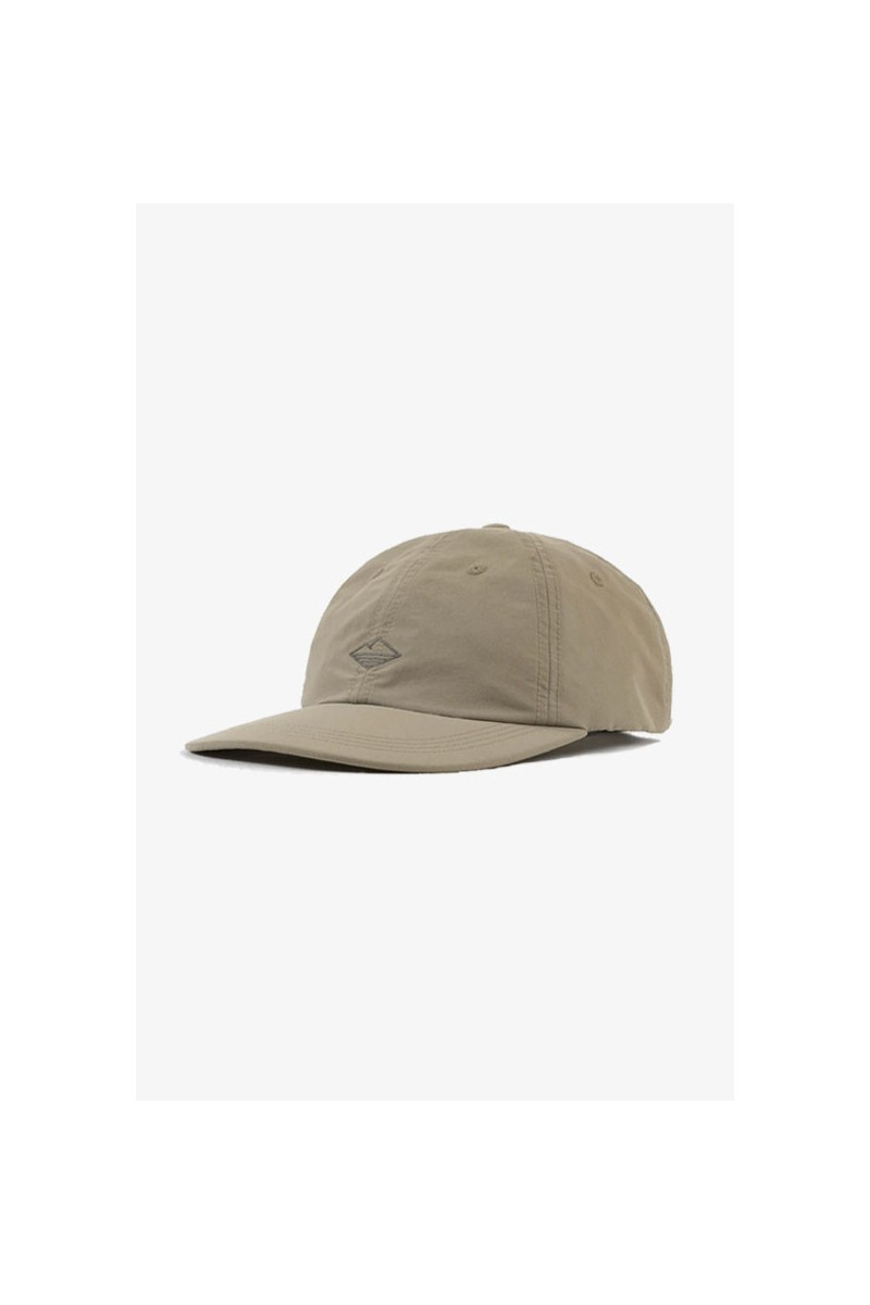 Nylon field cap Tan
