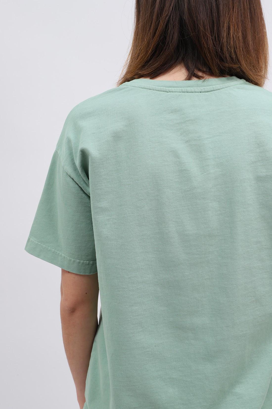 A.P.C. FOR WOMAN / T-shirt hope Vert pale