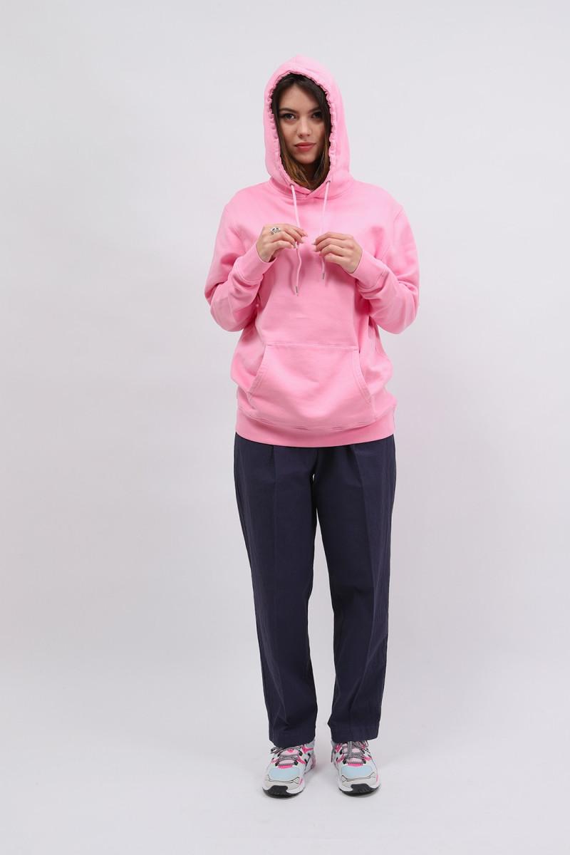 Classic organic hood flamingo Pink