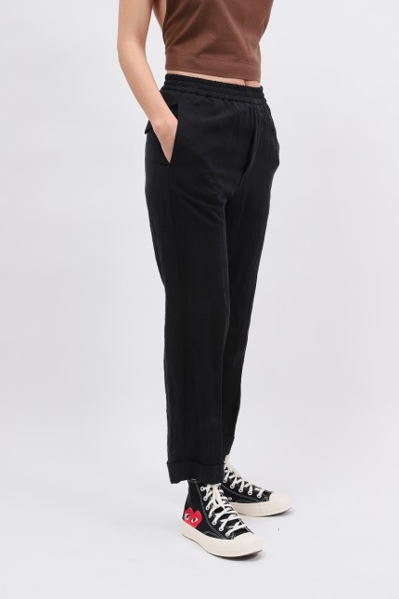 Pantalon alfonso drape Nero