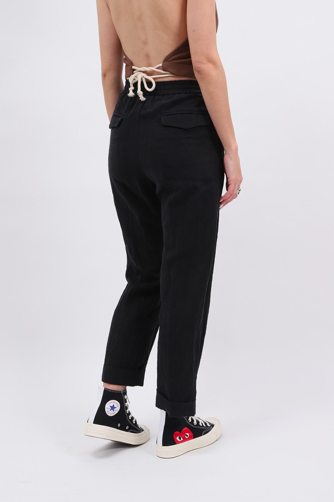 BARENA FOR WOMAN / Pantalon alfonso drape Nero