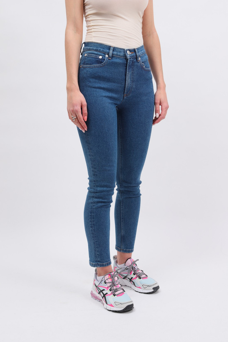 Jean new moulant Washed indigo