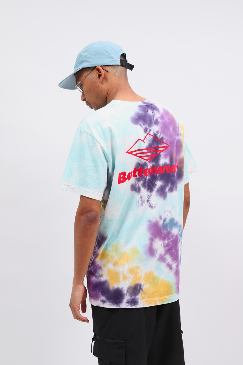 Team s/s pocket tee Tie dye