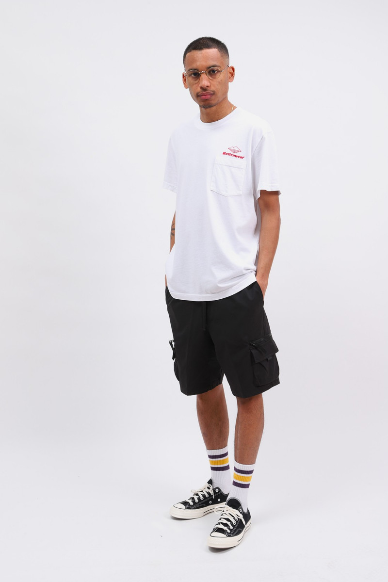 Team s/s pocket tee White