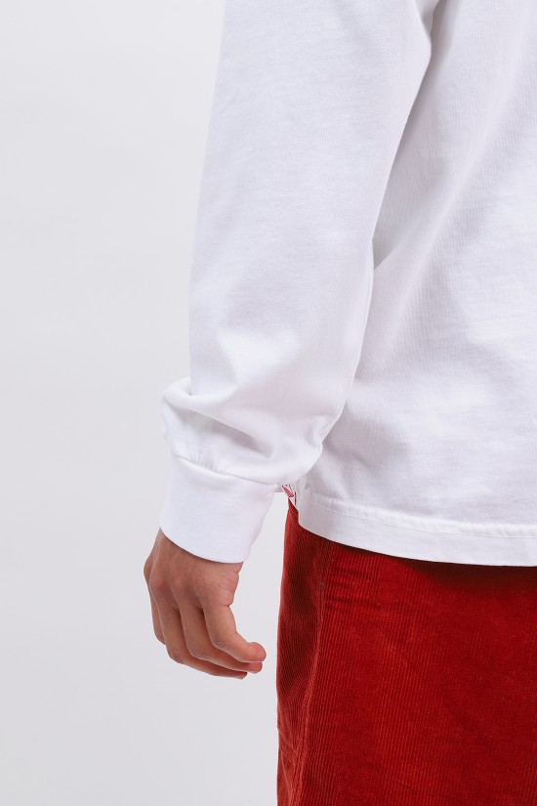 BATTENWEAR / Team l/s basic pocket tee White