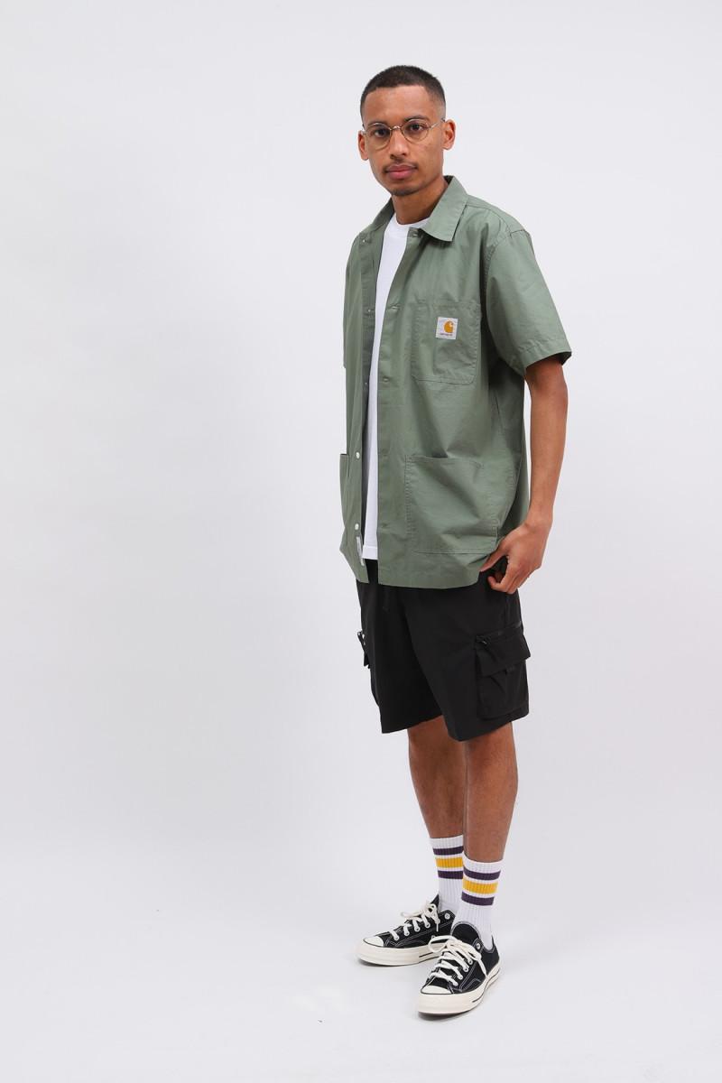 S/s creek shirt Dollar green