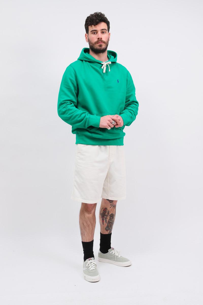 Polo hooded sweat Bill green