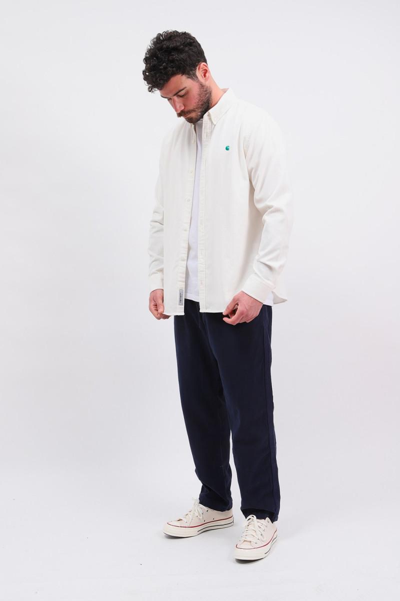 L/s madison fine cord shirt Wax/kingston