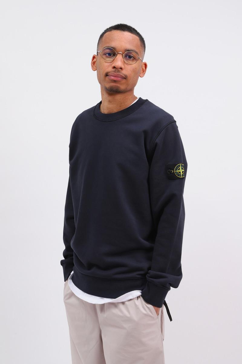 63051 crewneck sweater v0020 Blu