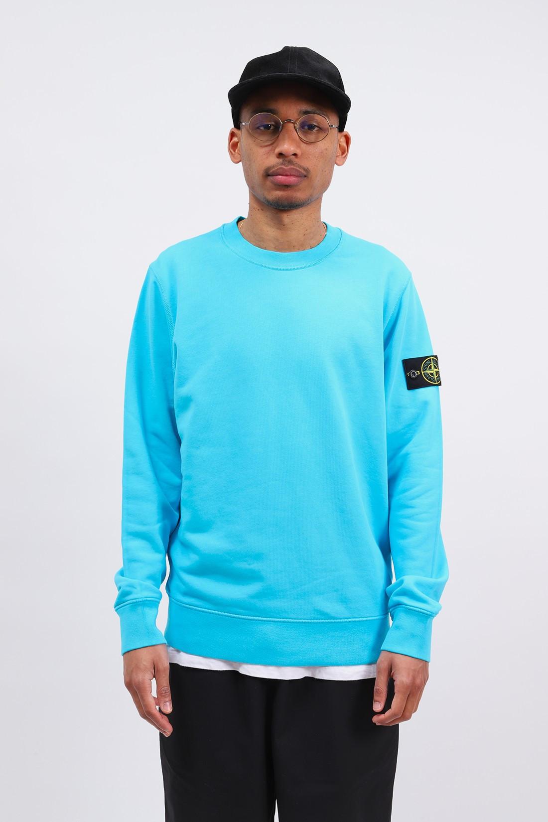 STONE ISLAND / 63051 crewneck sweater v0042 Turchese