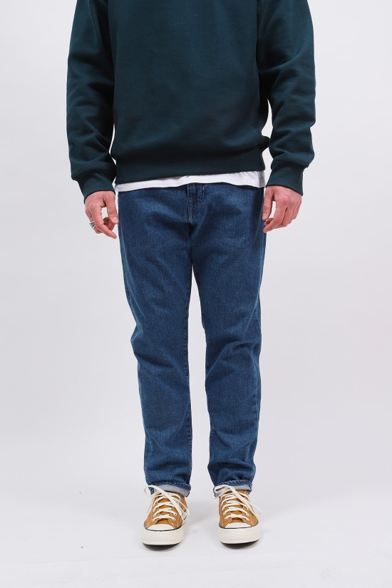 EDWIN / Zakai pant cs blue denim Marble light stone
