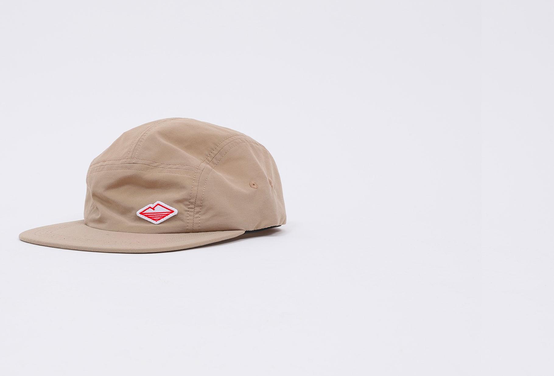 BATTENWEAR / Nylon travel cap Tan