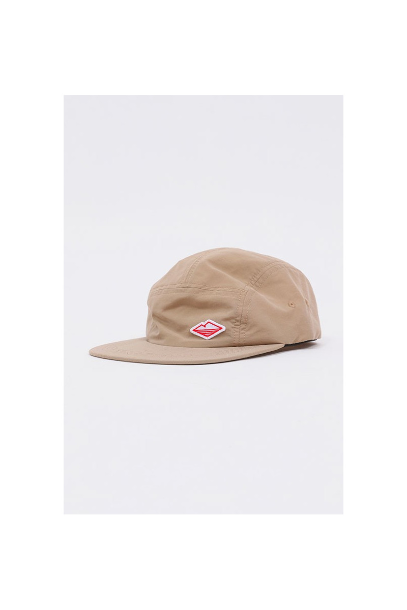 Nylon travel cap Tan