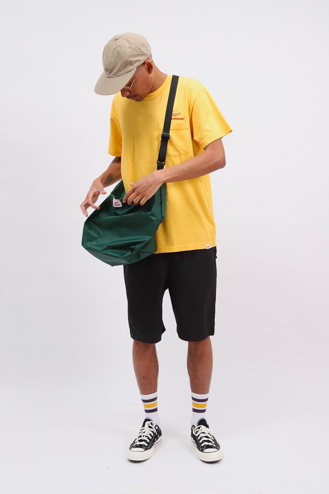 BATTENWEAR / Team s/s pocket tee Mustard
