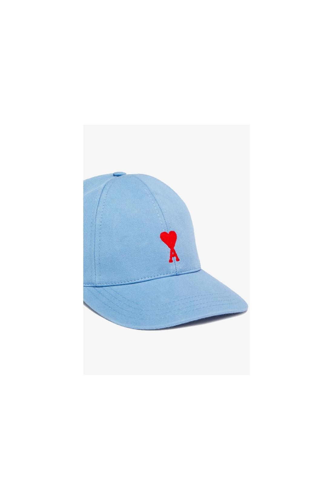 AMI / Casquette ami de coeur Bleu