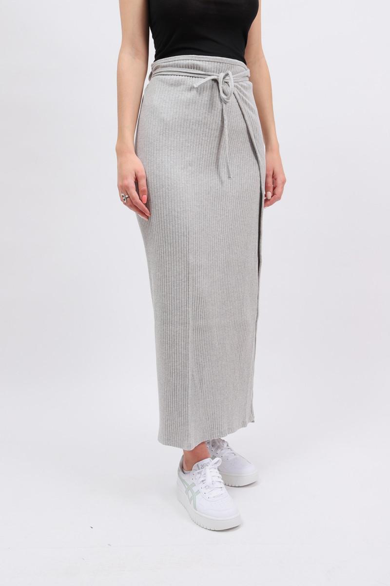 Brig skirt Grey melange