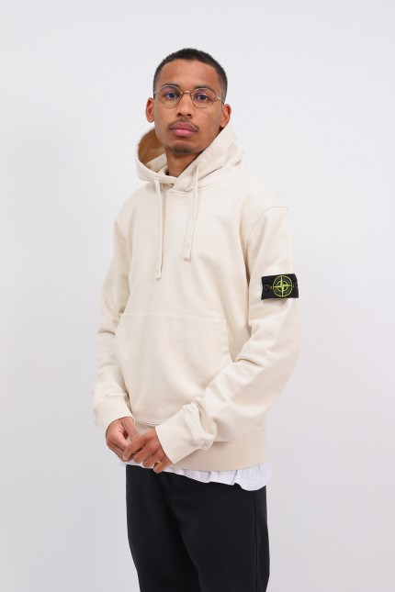64151 hooded sweater v0093 Avorio