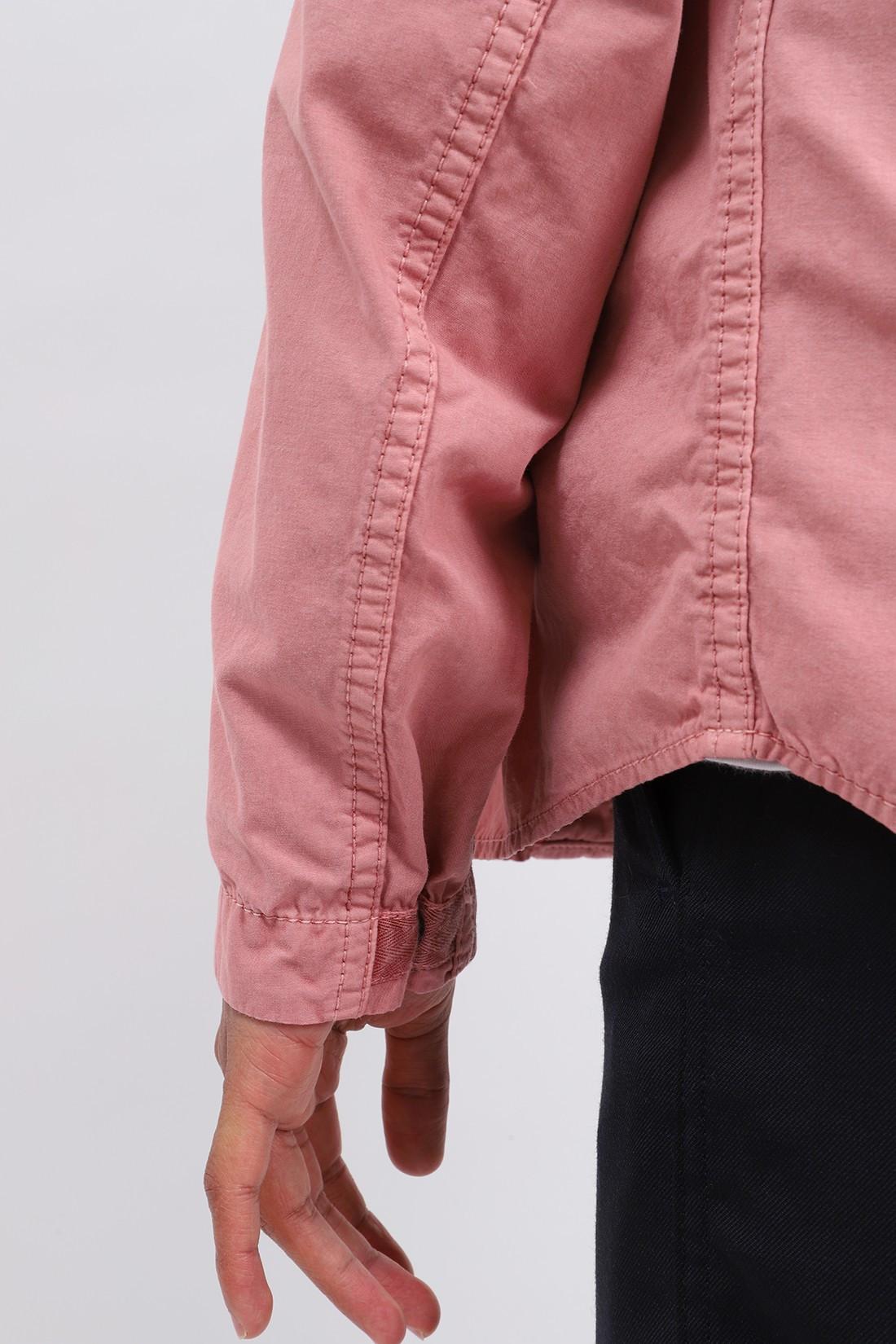 STONE ISLAND / 110wn overshirt v0186 Rosa quarzo