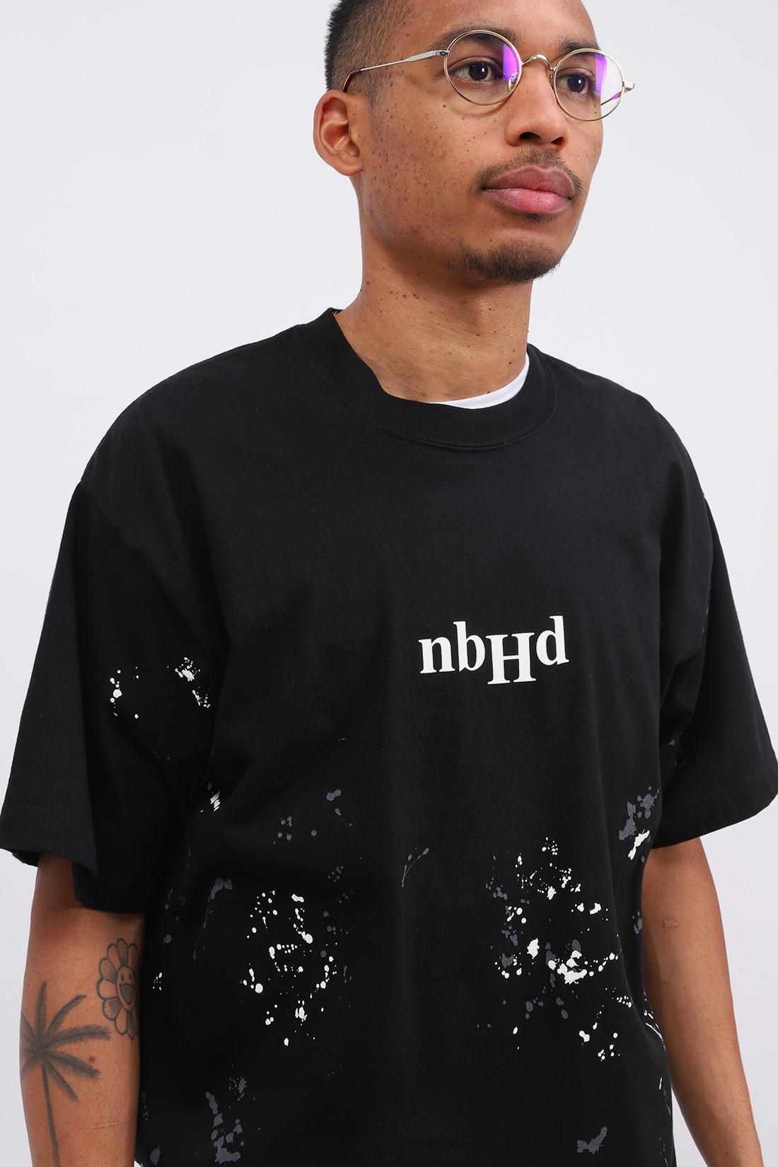 NEIGHBORHOOD / Drip / c-tee .ss Black