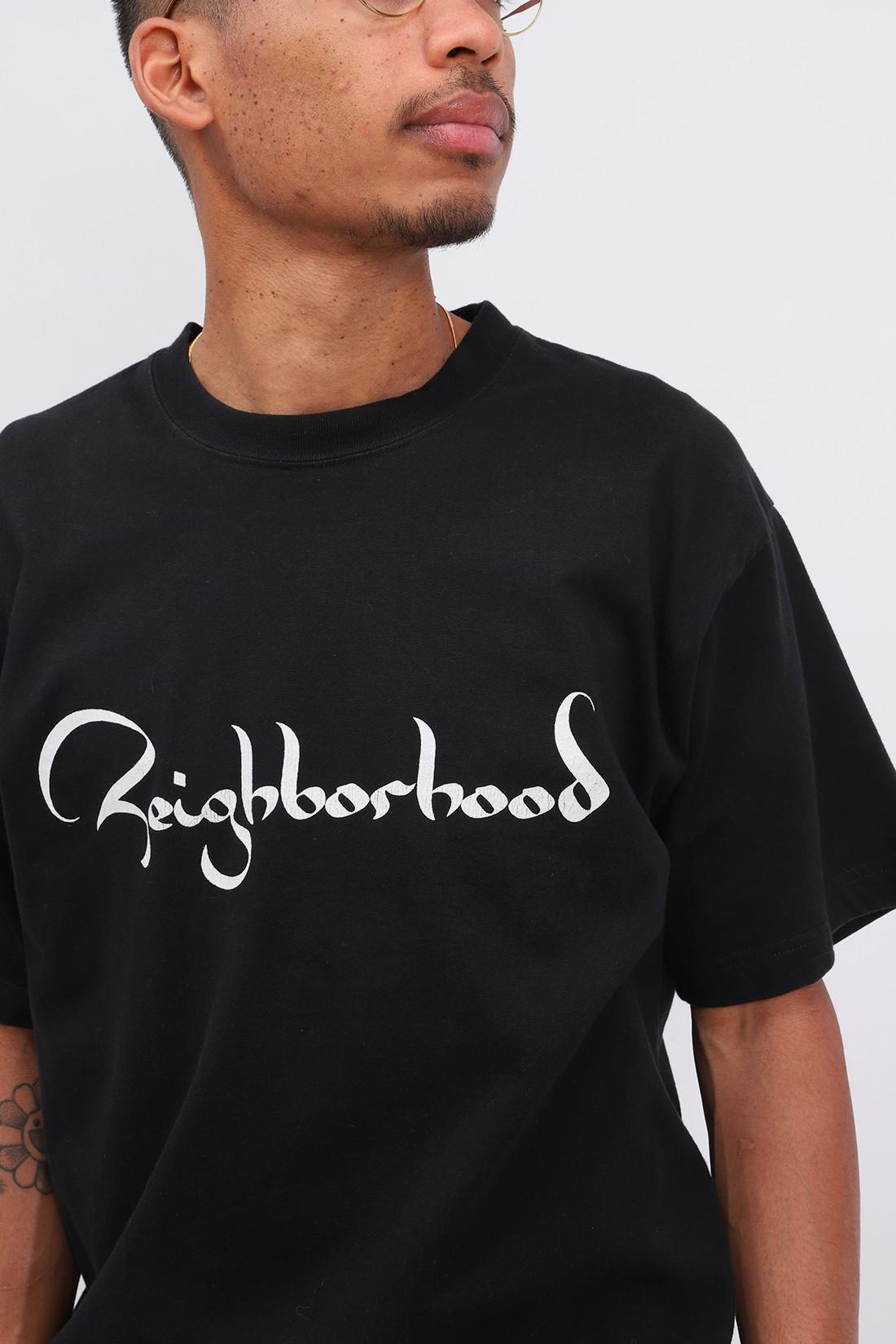 NEIGHBORHOOD / Zild / c-tee . ss Black