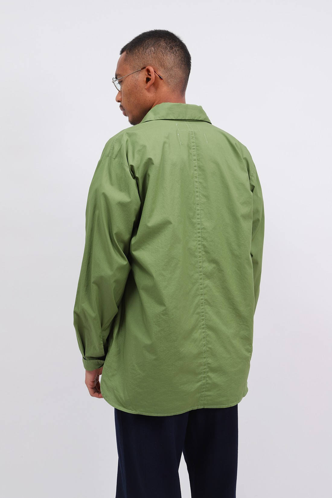 UNIVERSAL WORKS / Travail shirt wr ripstop Olive