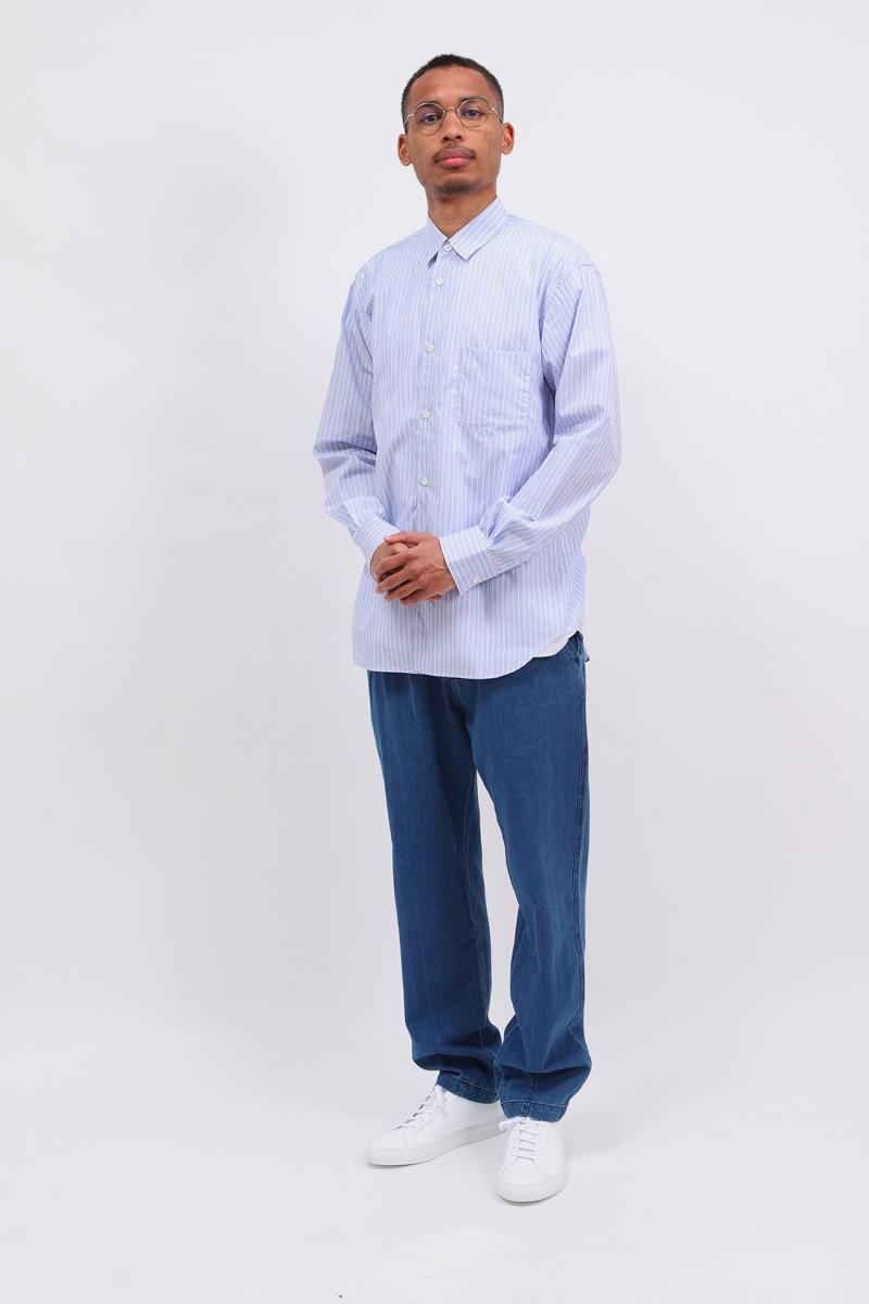 Forever stripe shirt Blue