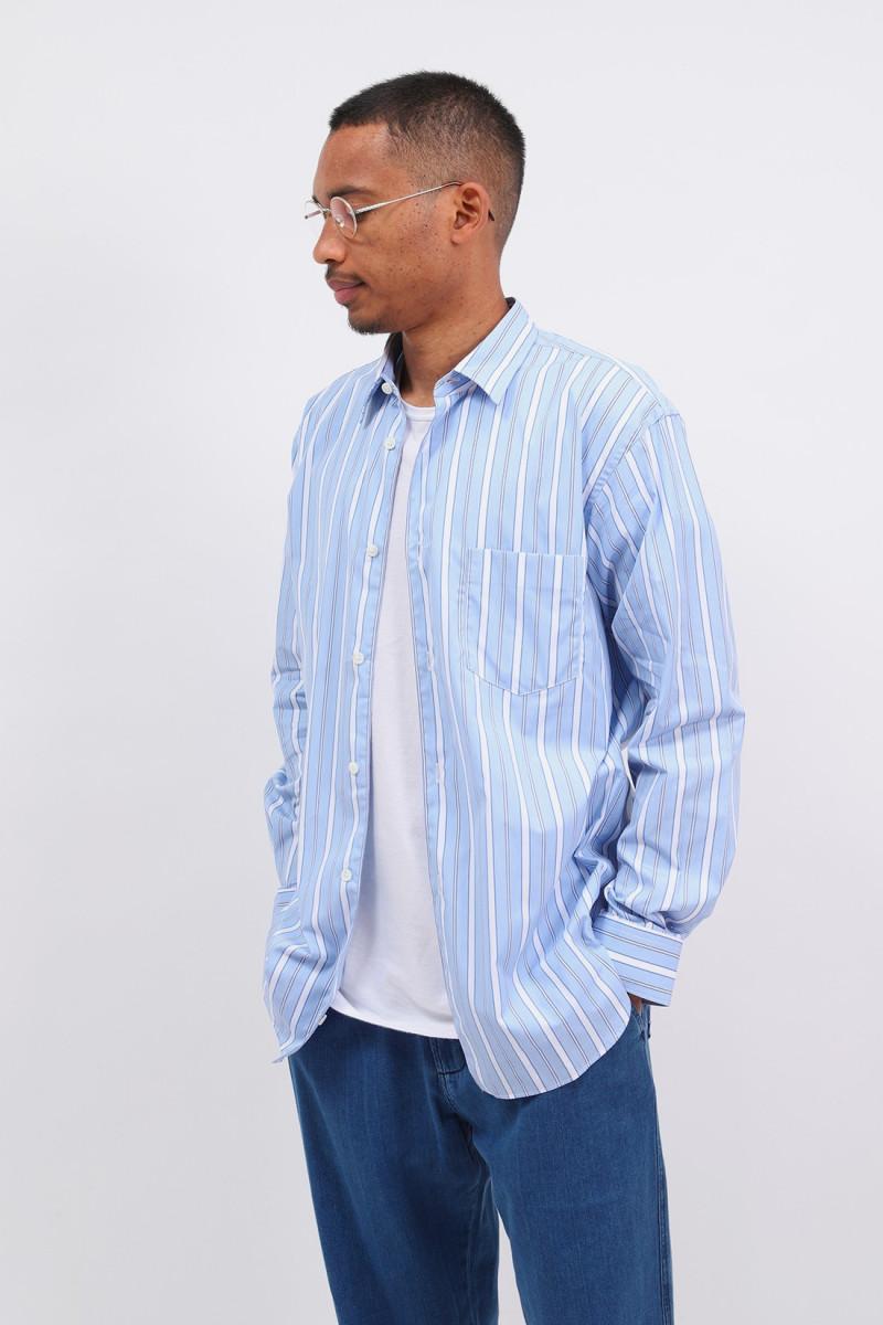 Forever multi stripe shirt Blue