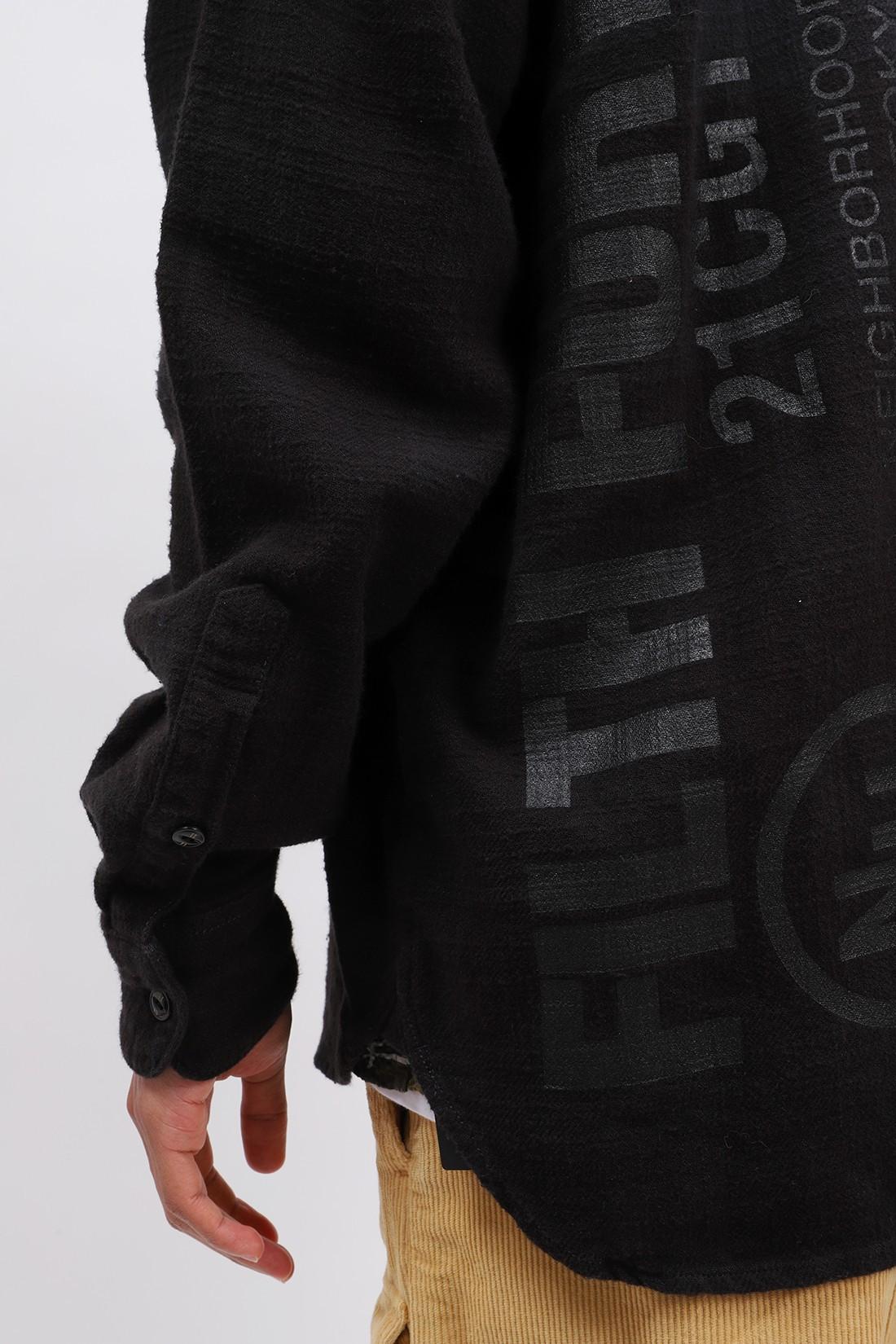NEIGHBORHOOD / Fade / c-shirt . ls Gray