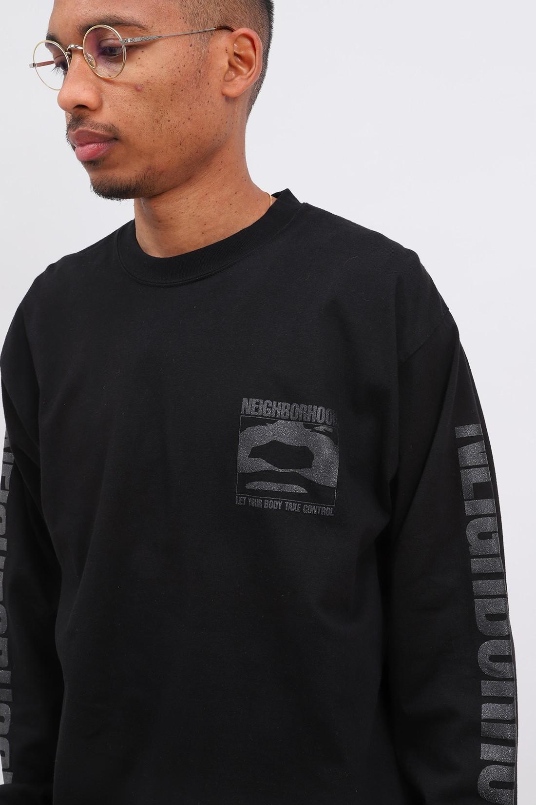 NEIGHBORHOOD / God / c-tee . ls Black