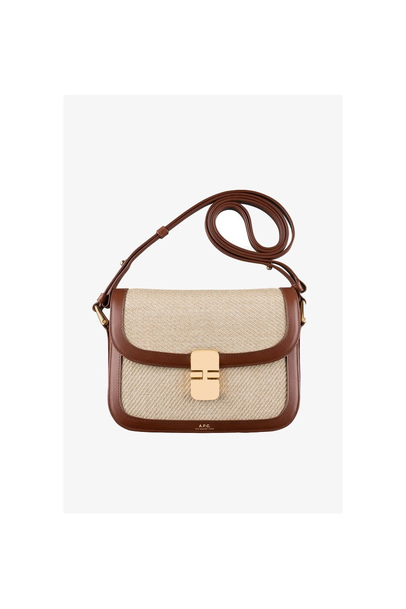 Sac grace small Noisette