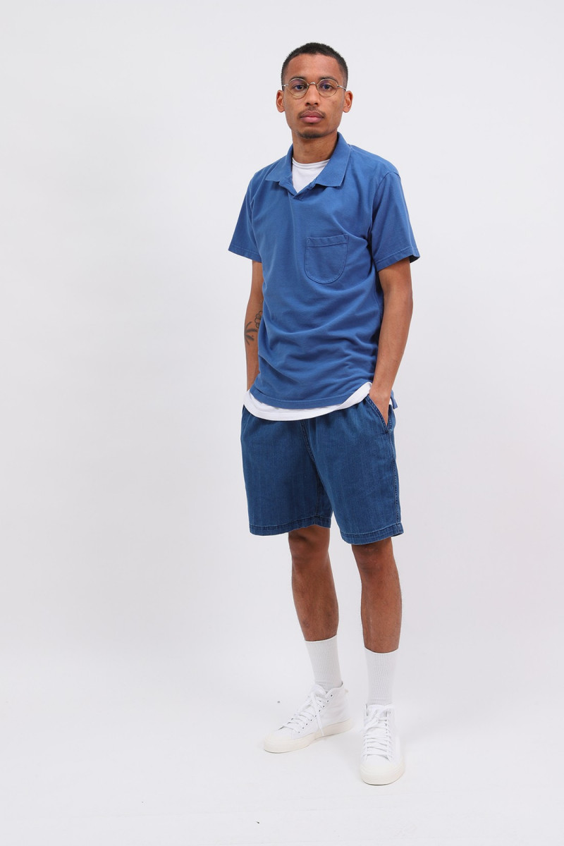 Vacation polo piquet Blue