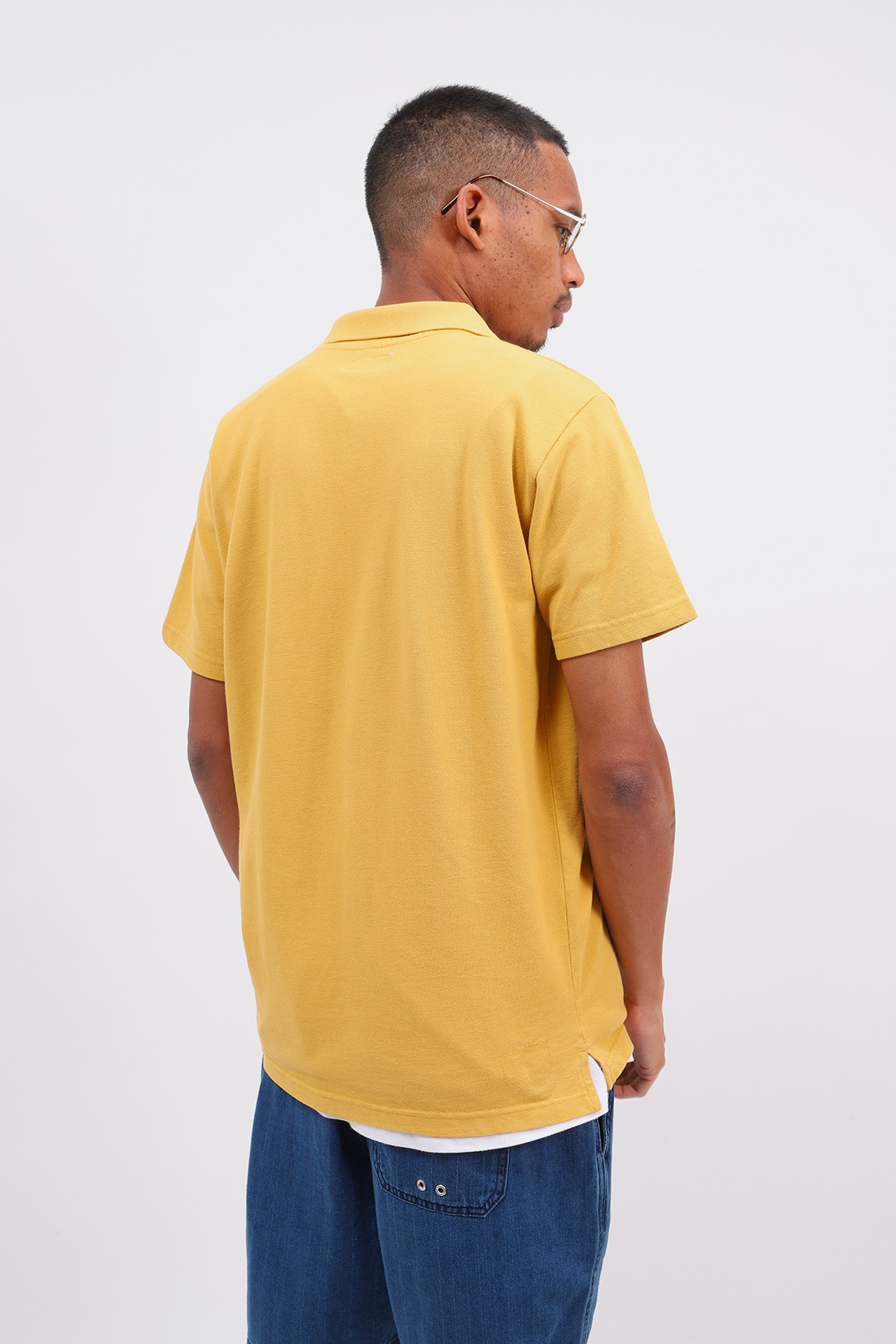 UNIVERSAL WORKS / Vacation polo piquet Gold